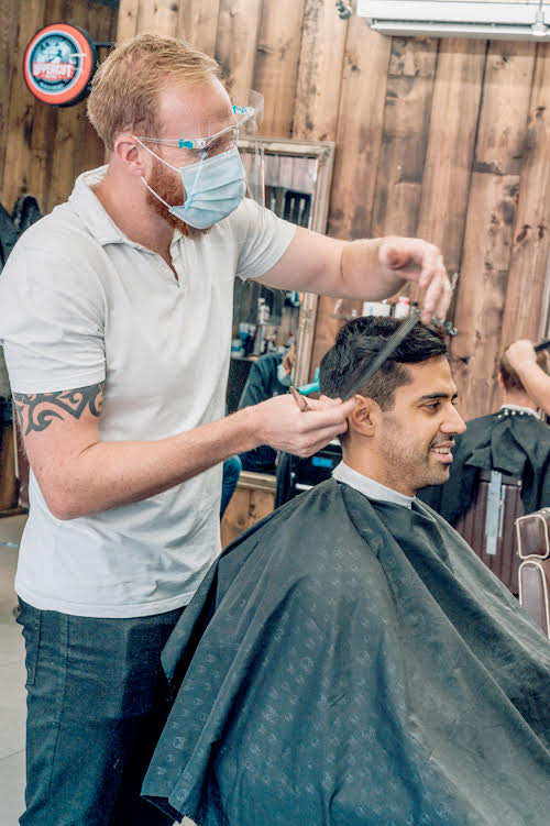 Haircut and shave in Tooting